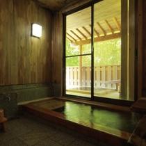 【離れ】檜内風呂 こぼうしの湯 洗心亭