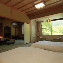 和室+和ベッドルーム こぼうしの湯 洗心亭