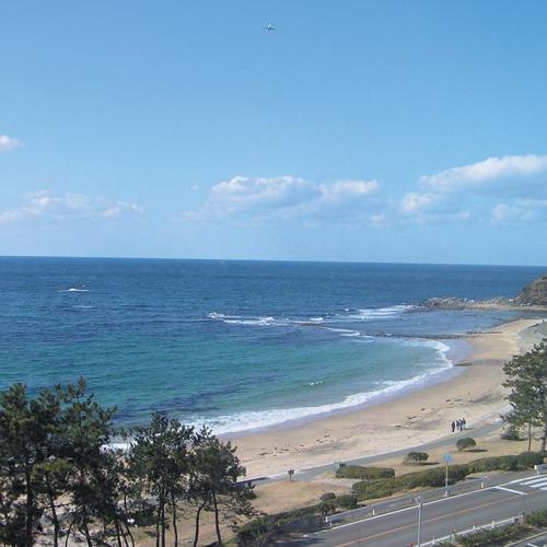 お部屋からの眺望 玄界灘を展望できる絶景のロケーション。
