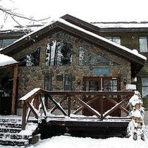 *外観/雪の世界へ。スキーやスノボーでアクティブに過ごすか、ゆっくりと冬景色に浸るか。