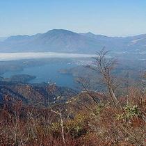 *野尻湖と黒姫山/四季によって表情を変える絶景