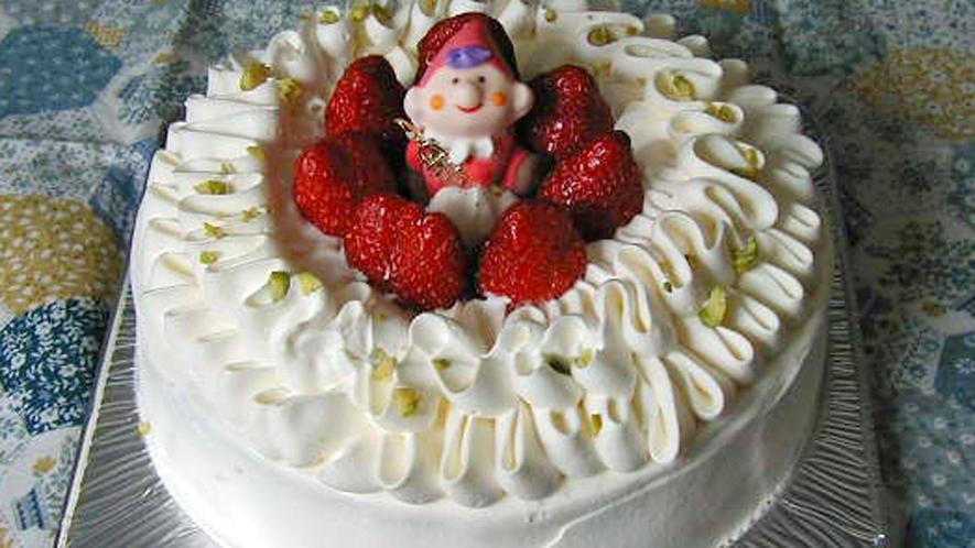 *バースデーケーキ一例/大切な記念日は旅先で♪