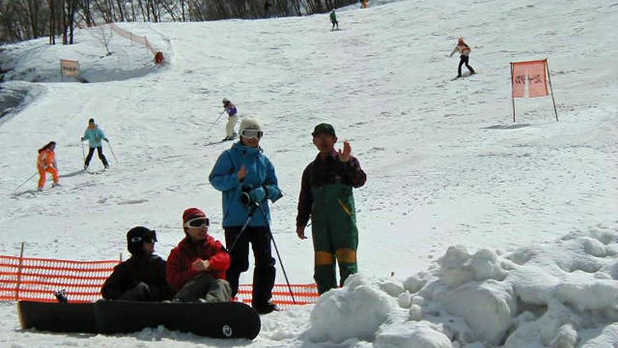 *タングラムスキーサーカスゲレンデ/第6リフト(裏側のコース)まで徒歩1分の好立地!