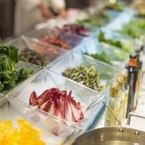 26F武蔵「新鮮野菜のしゃぶしゃぶ イメージ」