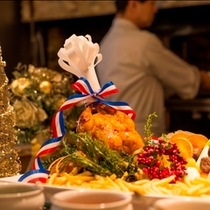 武藏クリスマスブッフェ開催