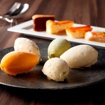 「GRILL DINING 薪火」デザート