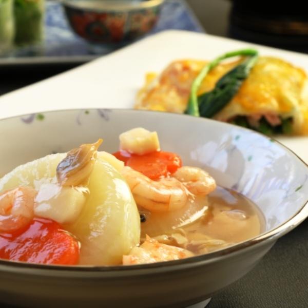 ☆料理_夕食_野菜たっぷり煮物