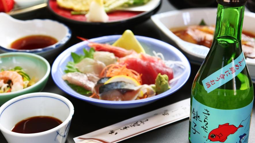 銚子港で獲れた『旬』の魚介を使った定番の旬魚料理♪