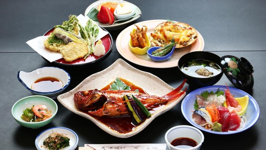 ●夕食●金目鯛の姿煮付