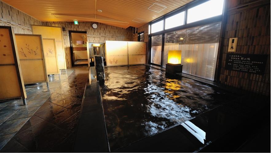 ◆9階男性大浴場 内湯 天然温泉『萩の湯』