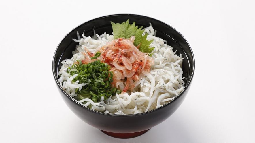 ◆朝食 期間限定『釜揚げしらすと桜えび丼』イメージ