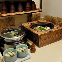 ■ご朝食・お味噌汁・ご当地はっと汁