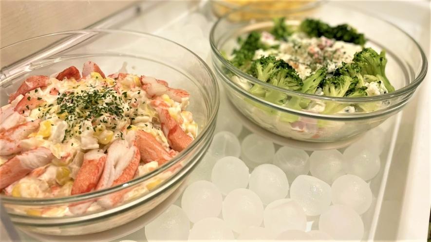 ◆朝食 サラダバイキング(イメージ)季節ごとに内容変更致します