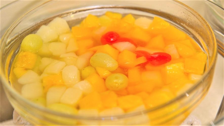 ◆朝食 デザート(一例)季節ごとに内容変更致します