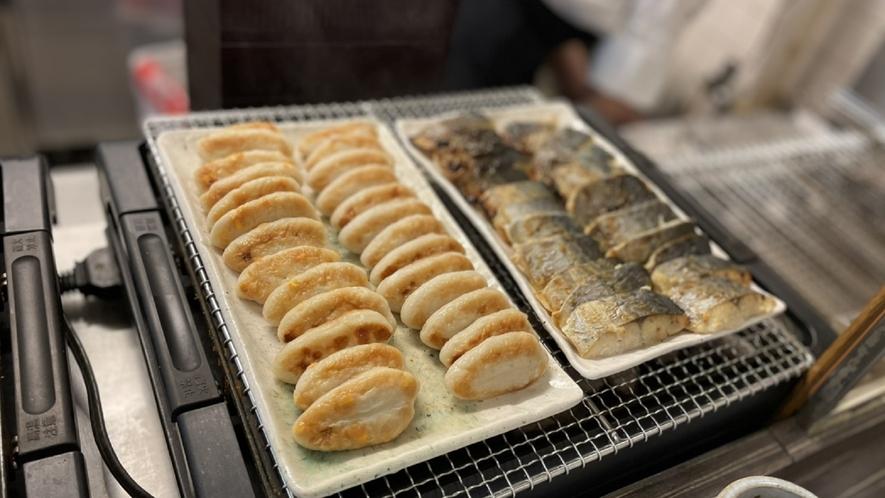 ◆朝食 炙り焼きバイキング(イメージ)