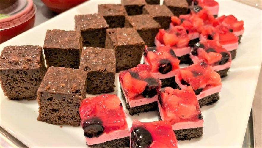 ◆朝食 デザート(イメージ)イベントによる内容変更もございます♪