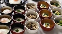 ◆朝食 味めぐり小鉢バイキング(イメージ)