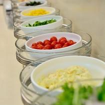 ■ご朝食・サラダコーナー