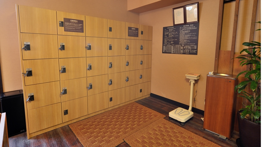 ◆9階男性大浴場 脱衣所 15か所
