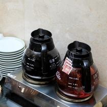 朝食 コーヒー&紅茶