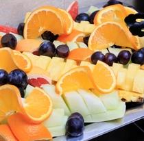 朝食 フルーツ
