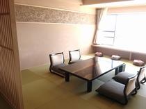 半露天付き特別室「花車」和室和モダン