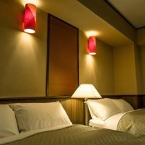 ゆすらうめ*ベッドルーム /山桜桃64平米・半露天付*特別室