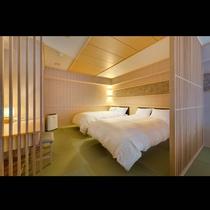 花車 ベッドルーム /半露天付48平米和室・はなぐるま特別和洋室