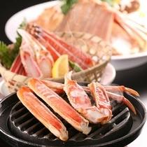 冬の味覚★みんな大好き♪焼蟹♪茹で蟹♪カニスキ