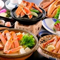 【かにカニ合戦★鍋・焼・刺★平日限定】カニスキ鍋