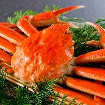 かに酢で丸ごと食す♪茹で蟹一匹
