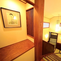 ■【館内】大正ロマンで有名な「竹久夢二」の作品展示など、館内は何もかもがノスタルジック