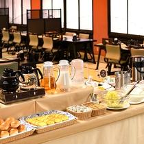 ■【ご朝食】和定食の他にフリーコーナー付(状況により和定食に組み入れる場合があります) ※イメージ