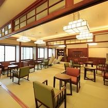 ■【宿泊者専用ラウンジ】コーヒー・お茶等のお飲物や、マッサージチェア・図書コーナーがあります!