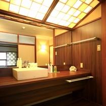 ■【モダン和室10畳】/洗面所一例