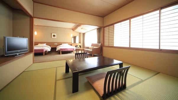 和洋室【8畳+ツインルーム】