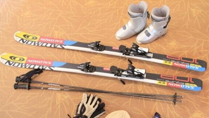 <リフト1泊1日券付+スキー・スノーボードレンタル付>夕食は選べるメインの山形牛/現金払い