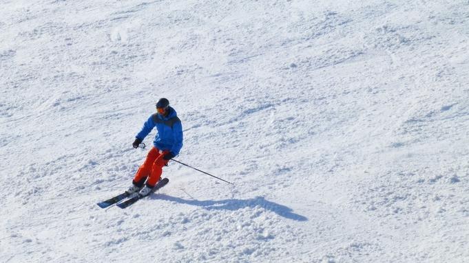 <リフト1泊2日券付+スキー・スノーボードレンタル付>夕食は選べるメインの山形牛/現金払い