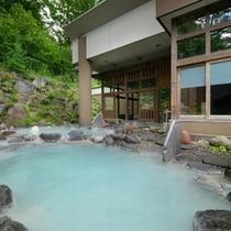 ■八右衛門の湯【露天風呂】2種類の温度の違う露天風呂をお楽しみください