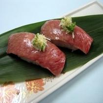 『山形牛』の炙り寿司 ※イメージ