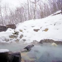八右衛門の湯【露天風呂(冬)】