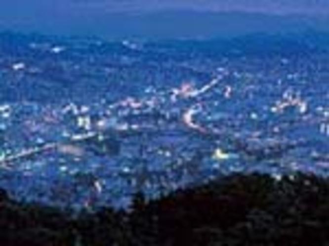 市街地夜景