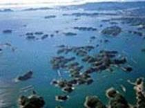 九十九島全景