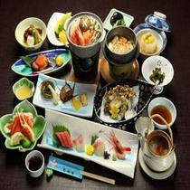 松茸プラン料理