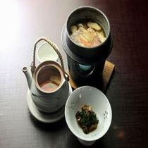 松茸料理(3点)
