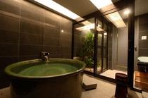信楽焼陶器風呂2