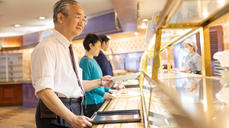 ◆レストラン「ウィズアスマイル」:カウンター3