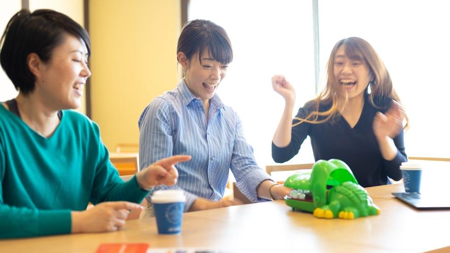 ◆ゲストラウンジ「ビスタ」利用例:ゲーム