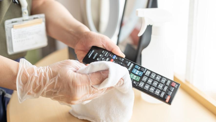 ◆客室清掃「アルコール消毒」5