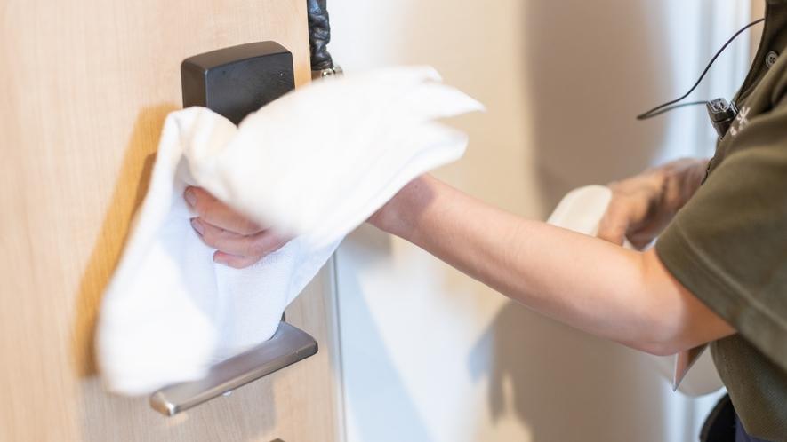 ◆客室清掃「アルコール消毒」2